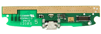 Разъем зарядки (коннектор) Lenovo S820 леново, A660, A680, A760, A890 с нижней платой