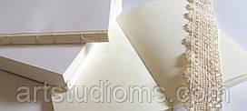 Блок не линованный (чистый), формат А6, молочного цвета