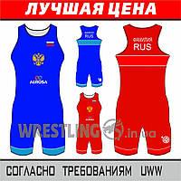 Новое трико для борьбы сборной России по борьбе 2017 UWW