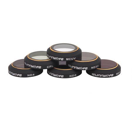 Светофильтр nd16 для коптера mavic pro защита подвеса черная для дрона mavic air