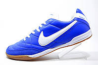 Футзальные бутсы в стиле Nike Tiempo Mystic, Blue\White