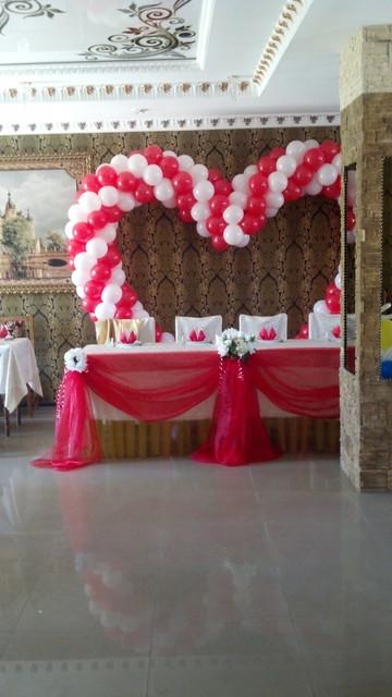 Оформление шарами свадеб, украшение свадьбы воздушными шариками
