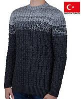 Теплый мужской свитер .Зимние кофты и свитера.