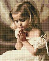 """Набір для алмазної мозаїки """"Дівчинка ангелочок"""" 40х50см GF942"""