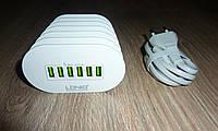 Зарядное устройство для телефонов LDNIO A6702 6 USB 7A
