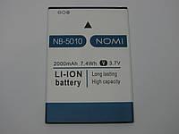 Аккумулятор для Nomi i5010 EVO M NB-5010 новые оригинал