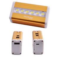 Внешние аккумулятор(Powerbank)+налобный фонарь POLICE 5800 mAh  BL-901