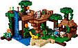 Конструктор Lele 79282 Домик на дереве в джунглях (аналог Lego Майнкрафт, Minecraft 21125), 718 дет, фото 2