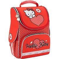 Рюкзак Kite HK17-501S-1 Hello Kitty-1 школьный каркасный детский для девочек 34см х 26см х 13см