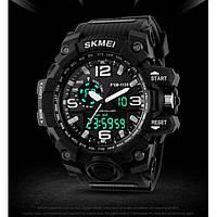 Спортивные часы Skmei 1155 черные