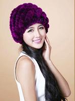 Женская меховая шапка. Модель 61518, фото 7