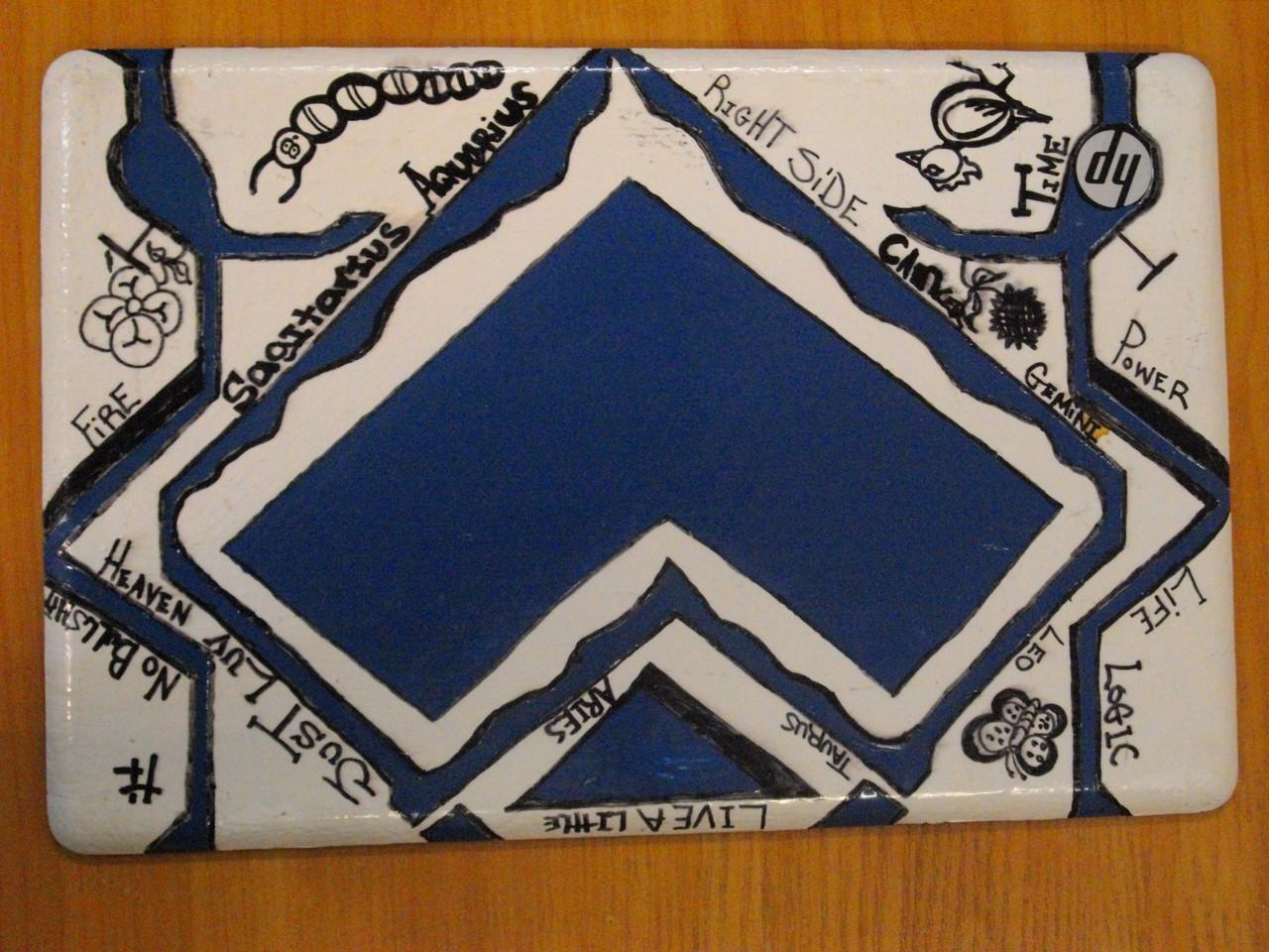 Корпус Крышка матрицы HP G56 G56-129WM
