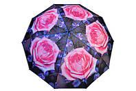 Оригинальный  зонт принт роза