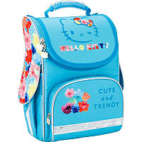 Рюкзак Kite HK17-501S-2 Hello Kitty-2 школьный каркасный детский для девочек 34см х 26см х 13см