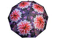 Качественный зонт в крупные цветы