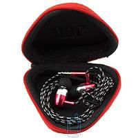 Наушники с микрофоном JBL 122 + треугольный чехол змейка