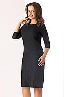 Женское кружевное платье черного цвета Lilka Top-Bis, коллекция осень-зима 2017-2018