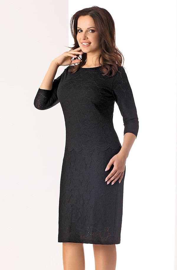 5725aea4bf3 Женское кружевное платье черного цвета Lilka Top-Bis