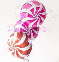 Композиция из 3 фольгированных шаров-карамелек