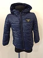 Курточка синяя мальчик р.92