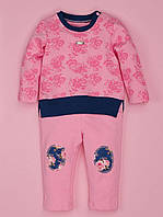 Спортивный костюм для девочки Розы, синий 7001-1 (р.86)