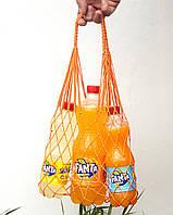 Авоська мини - оранжевая, фото 1