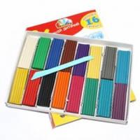 Пластилин Гамма набор 16 цвет 320 грамм со стеком Детский! Серия Увлечения 331012 Гамма