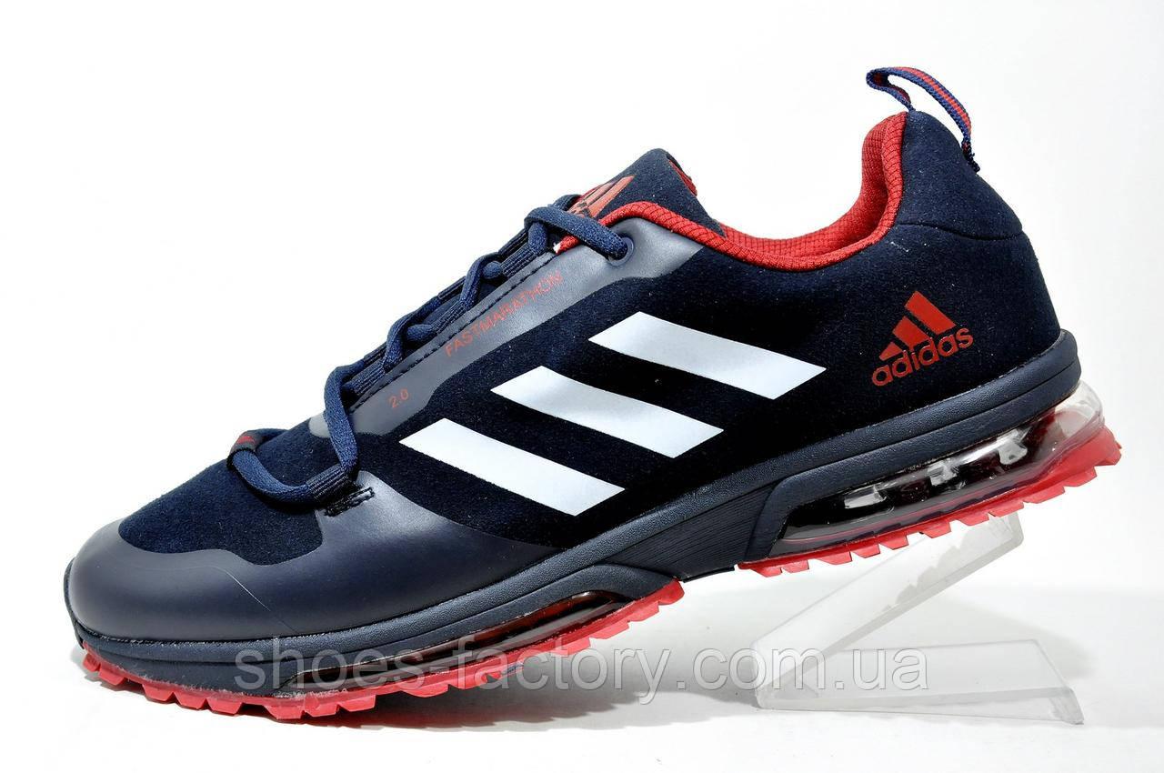 Мужские кроссовки в стиле Adidas FastMarathon 2.0, Dark Blue\Red