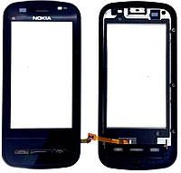 Тачскрин Nokia C6-00 Black Original с рамкой