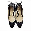 Черные туфли на каблуке George, размер 42
