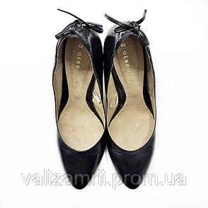 Черные туфли на каблуке George, размер 42, фото 2