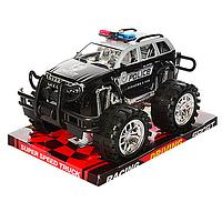 Детская инерционная  машина Полицейский Джип361D -инерционная, полицейский Джип, в слюде 26*19*15см