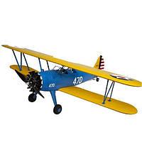 Самолет Sonic Modell PT-17 Stearman пилотажный копия электро бесколлекторный 1200мм PNP