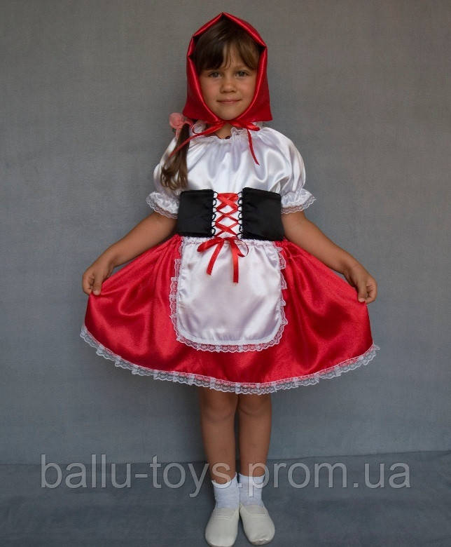 5e401b2df7b Карнавальный костюм для девочек Красная шапочка - Интернет магазин Irinka в  Харькове