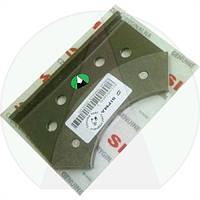 Пластина прижимная диска тормозного внешняя ОРИГИНАЛ пресс подборщика Sipma Z-224/2 | 201207054000 SIPMA