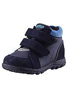 Демисезонные ботинки для мальчика Reima Lotte 569332-6980. Размеры 20  - 25.