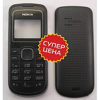 Корпус Nokia 1202 Чёрный С Клавиатурой, Полный Комплект, Заводское Качество