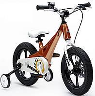 Детский велосипед 14 Royal Baby MG DINO золотой