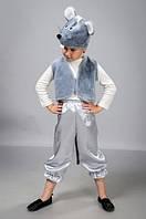 Детский карнавальный костюм Мышонок с атласными бриджами