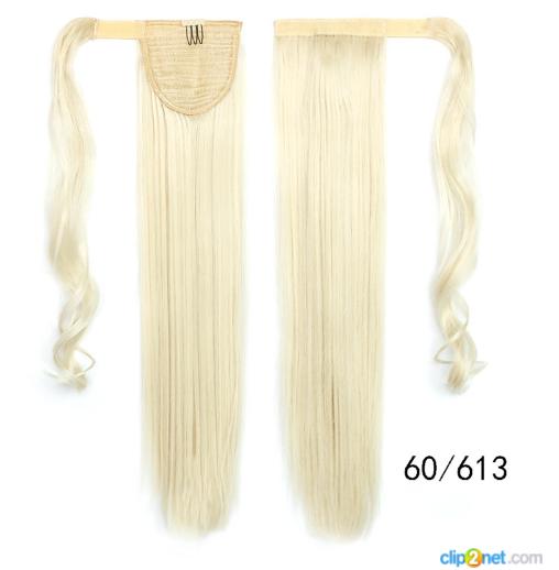 Купити Шиньйон Хвіст не дорого 60 см блонд