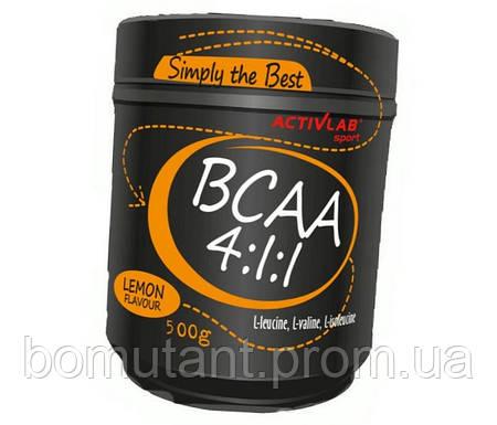 BCAA 4:1:1 500 гр lemon Activlab