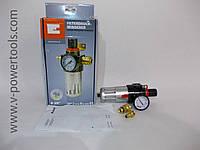 """Фильтр воздушный Einhell + редуктор давления, вкл. резьбовой нипель и быстросъем R 3/8"""""""