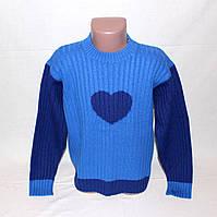 Синий свитер Benetton на 6-7 лет р.116