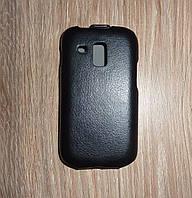 Чехол флип / книжка Samsung S7562 черная melkco