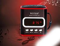 Портативная mp3 usb колонка радио wster ws-215