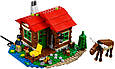 """Конструктор лего майнкрафт Аналог Lego Minecraft Lele 33020 """"Домик у озера 3 в 1"""" 404 дет, фото 5"""