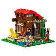 """Конструктор лего майнкрафт Аналог Lego Minecraft Lele 33020 """"Домик у озера 3 в 1"""" 404 дет, фото 7"""