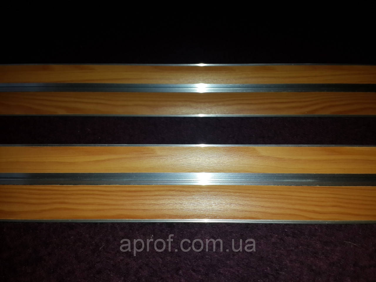 Карниз алюминиевый БПО-09 (двухрядный)