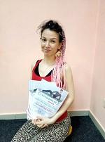 Чайковская Наталья получила сертификат инструктора по пилатесу в школе Олимпия
