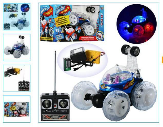 Машинка на радиоуправлении трюковая со светом 9293-9294 Joy Toy